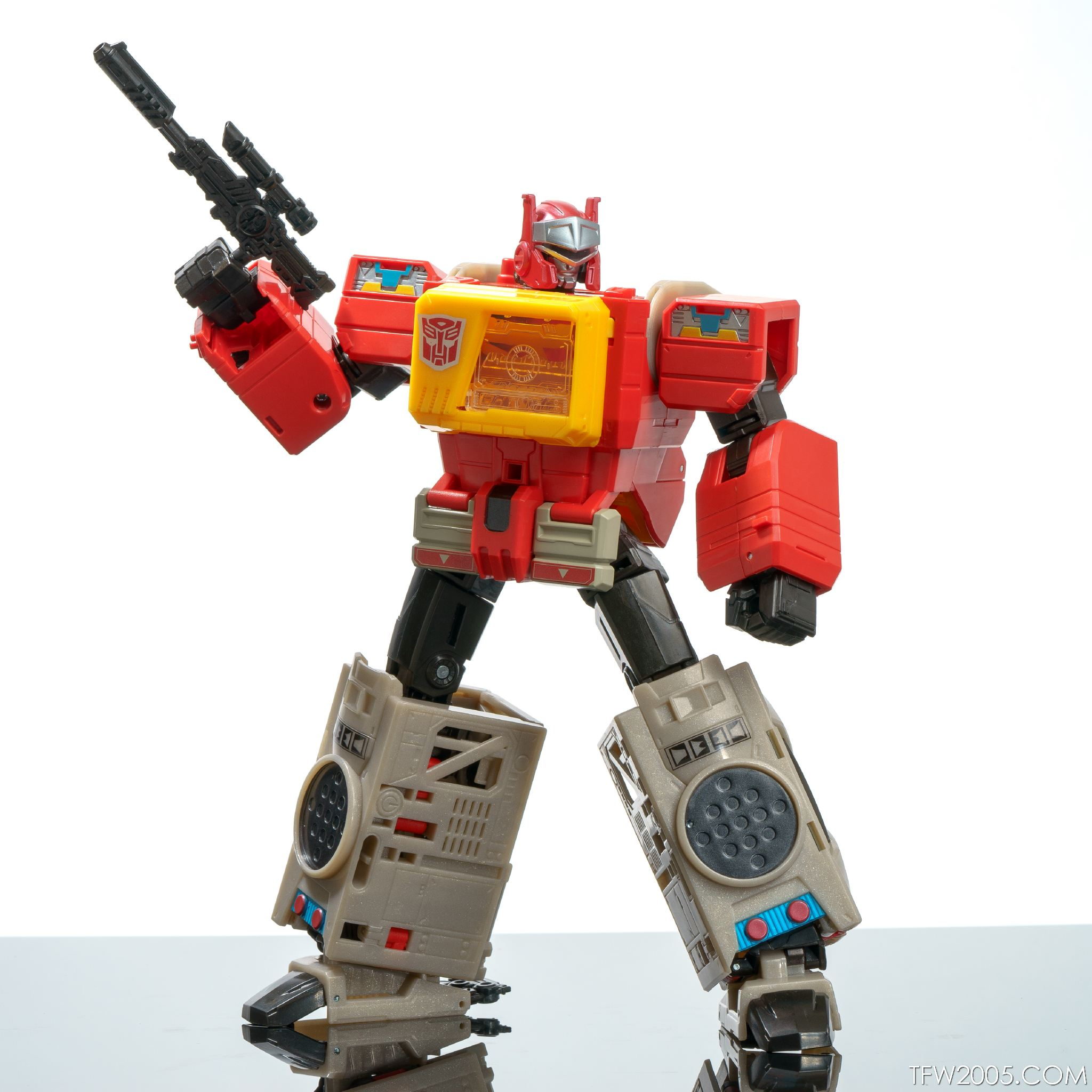 Titans Return Blaster 17