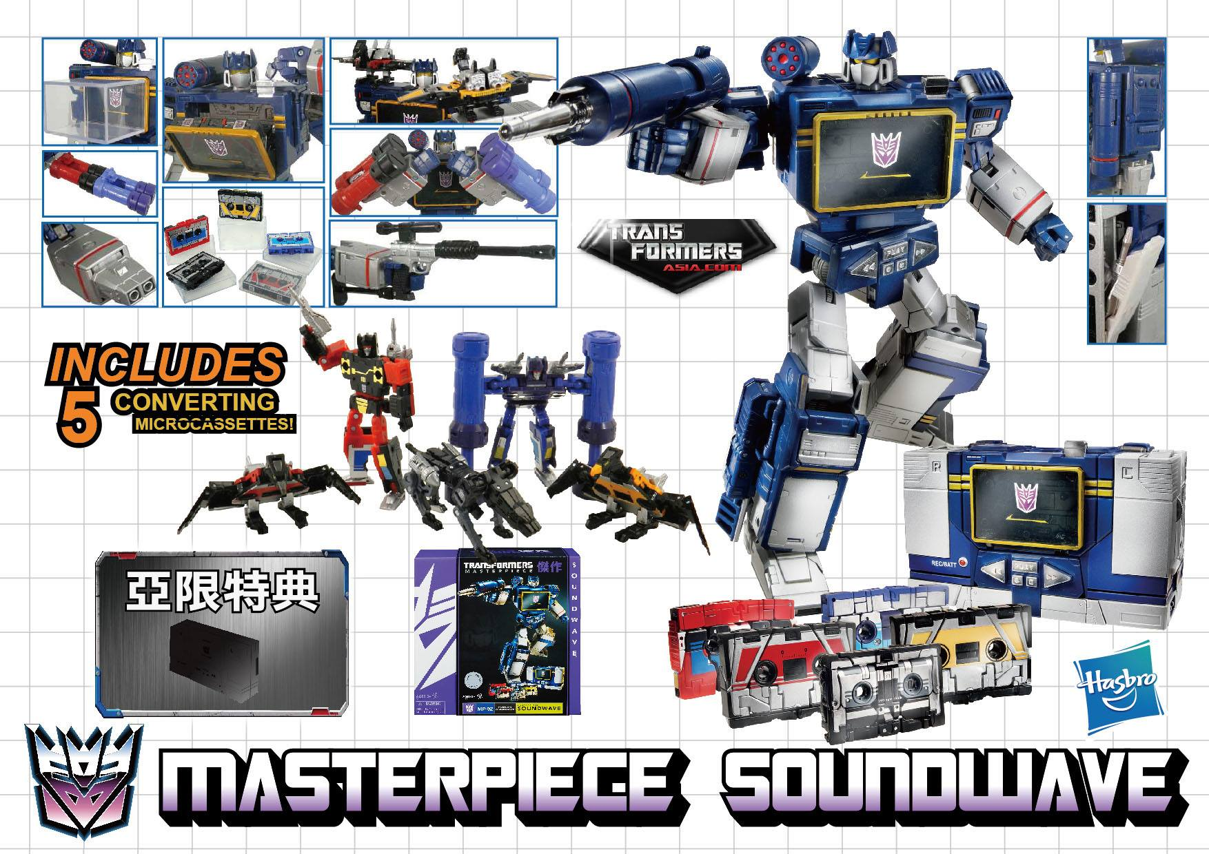 how tall is masterpiece soundwave