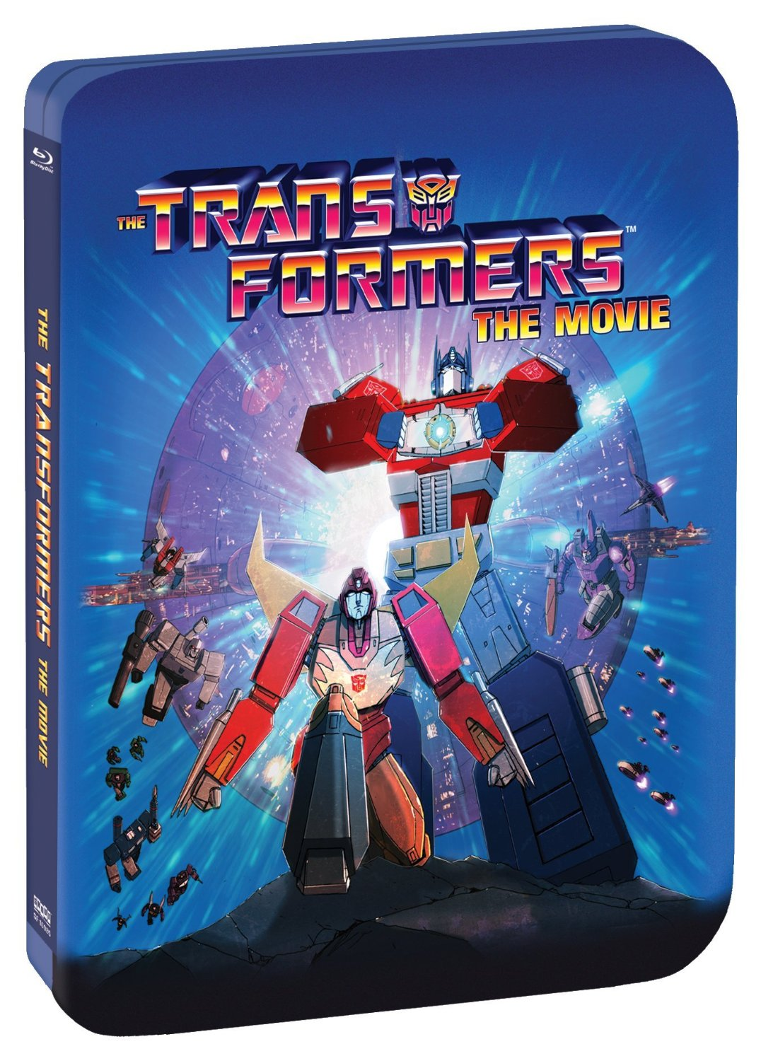 The Transformers: The Movie Blu-ray Steelbook UK Release ...