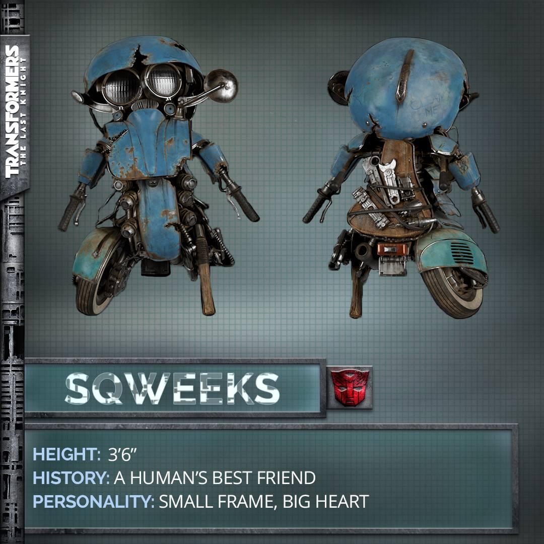 Transformers 5 The Last Knight Autobot Sqweeks
