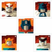 Acid Free Gallery Tom Whalen Autobot Set