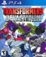Playstation 4 Playstation Plus Transformers Devastation
