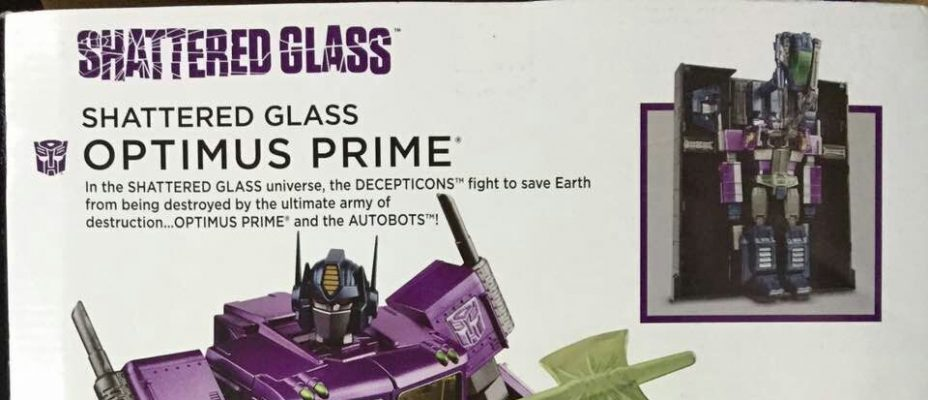 Hasbro Asia Shattered Glass Masterpiece Optimus Prime Announced