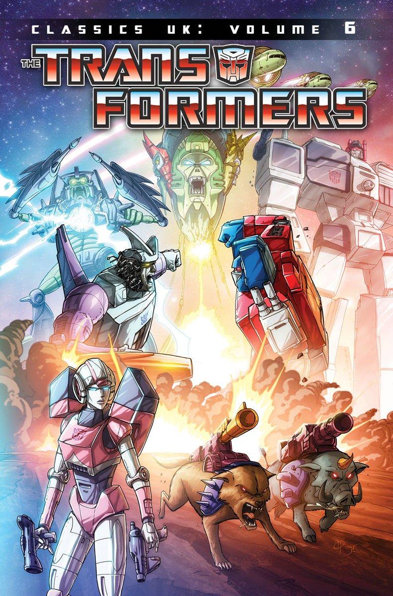 Transformers UK Classics Volume 6