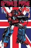 Diamond Comics Transformers Optiimus Prime 1 Cover