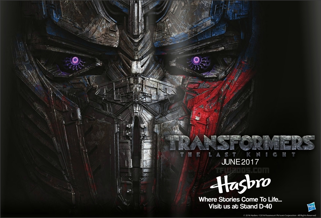 Hasbro Brand Licensing And Publishing Transformers Brand Licensing Europe 2016 Transformers The Last Knight