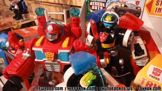 Rescue Bots First Revealed Toys 1
