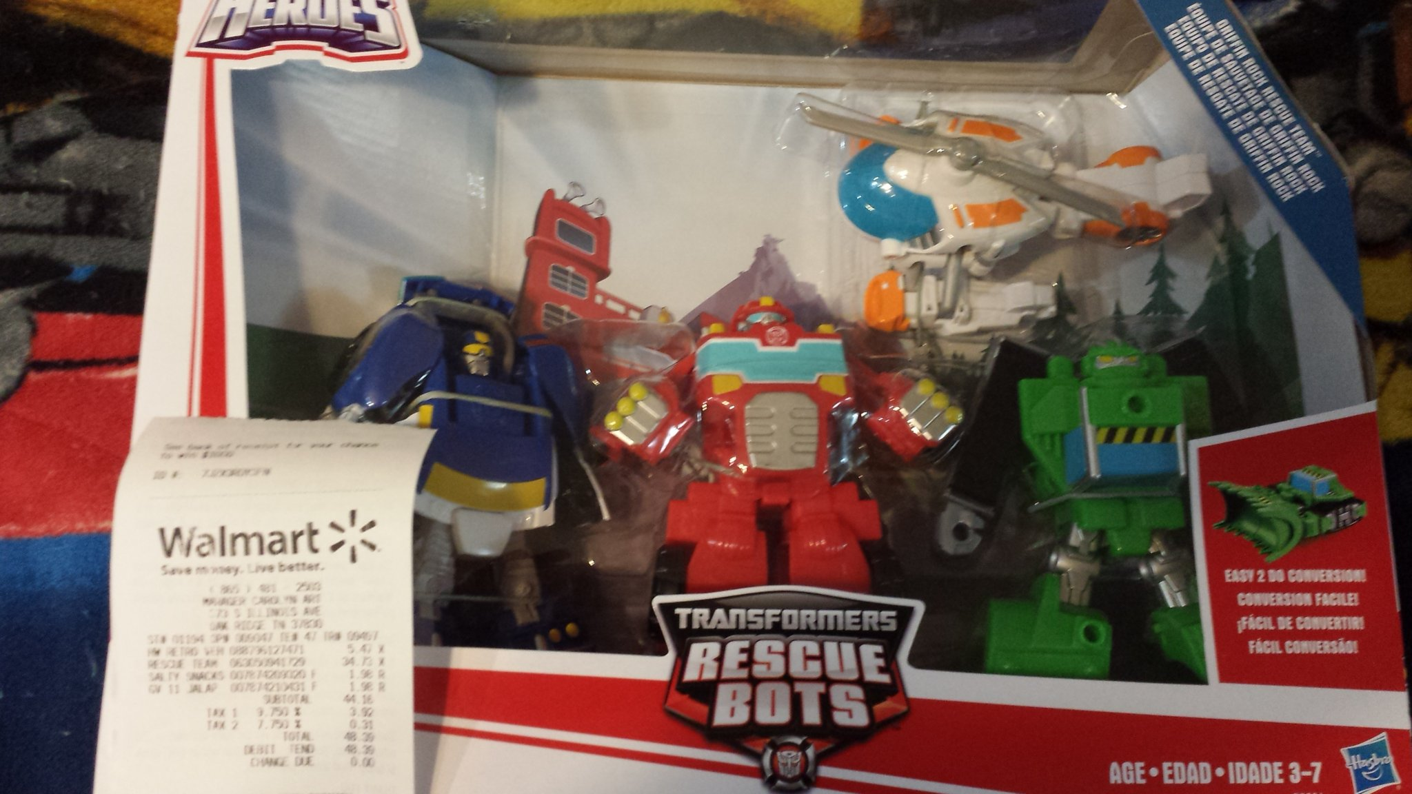 Good Transformers Rescue Bots Griffin Rock Rescue Team Gift Set Found In US  Retail   Cybertron.CA   Canadian Transformers News And Discussion