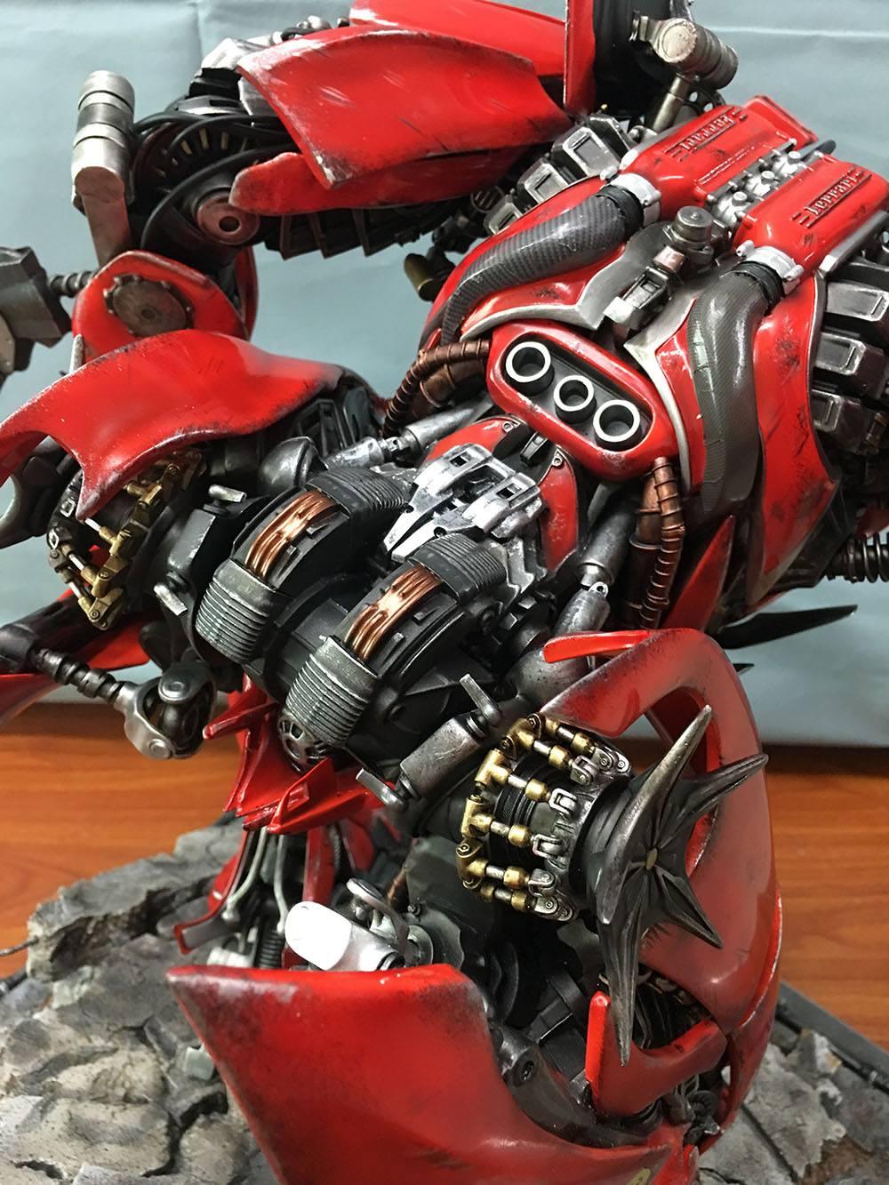 Matrix Studio Transformers Dark Of The Moon Autobot Dino
