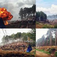 Transformers 5 The Last Knight Bourne Woods