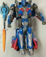 Transformers 5 The Last Knight Voyager Class Optimus Prime Single Shot