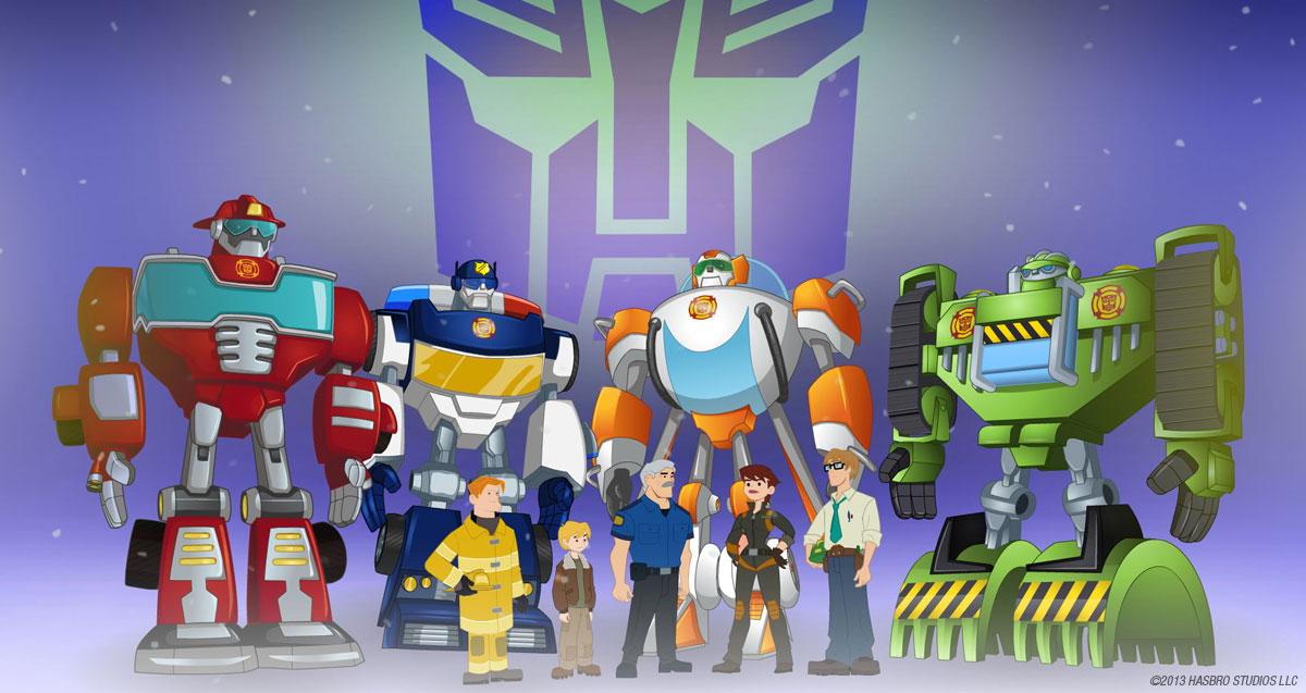 Transformers Rescue Bots Banner 5