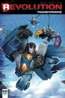 Transformers Revolution Ken Christiansen RI Cover