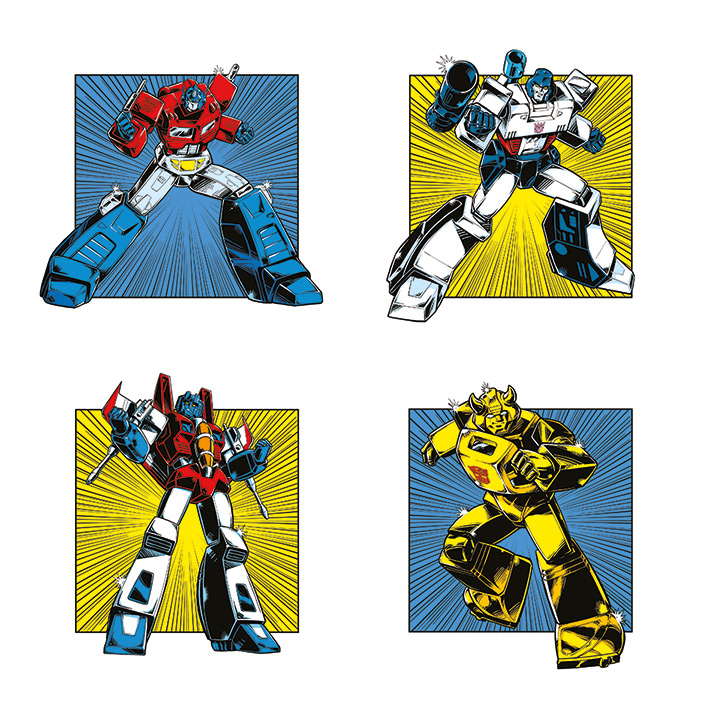 New Transformers Prints Featuring Guido Guidi Art