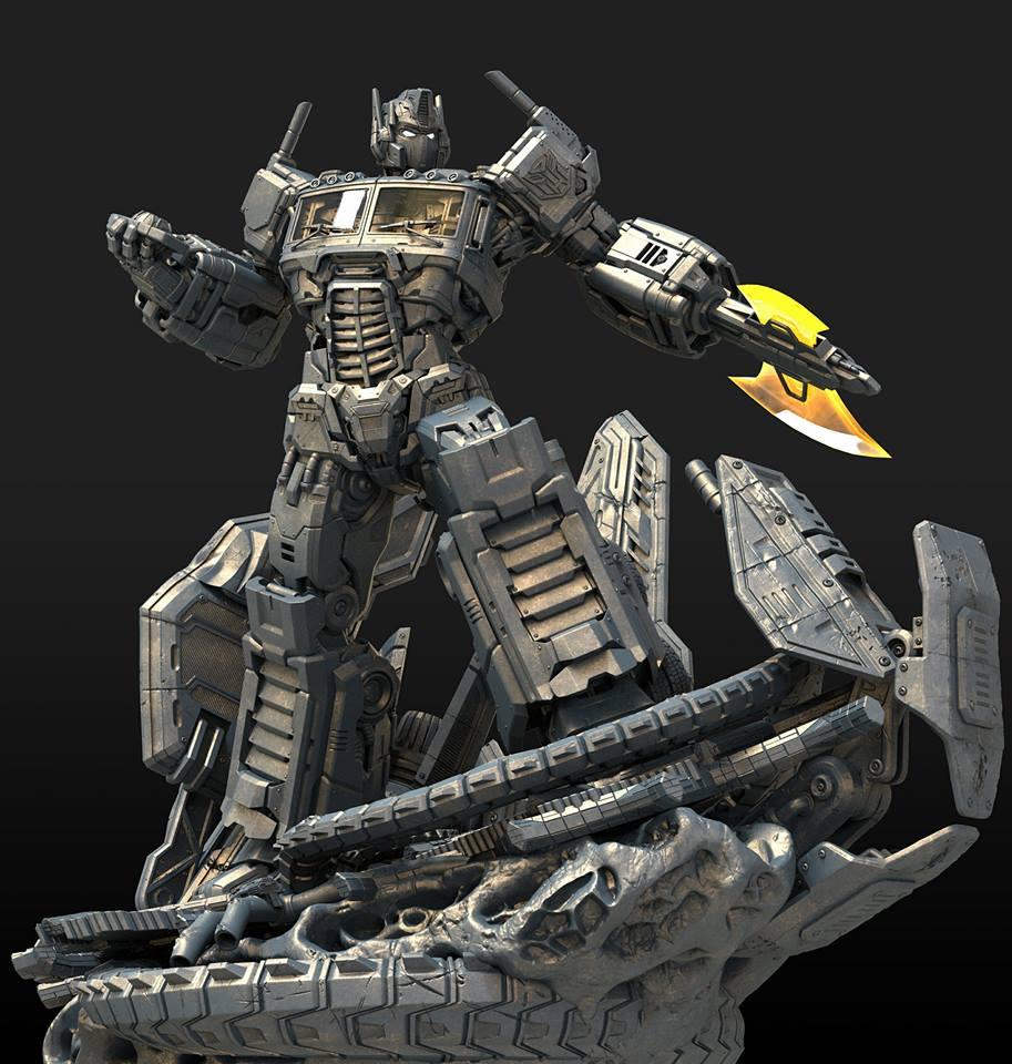 XM Studios Optimus Prime Statue - More Pics - Transformers ...