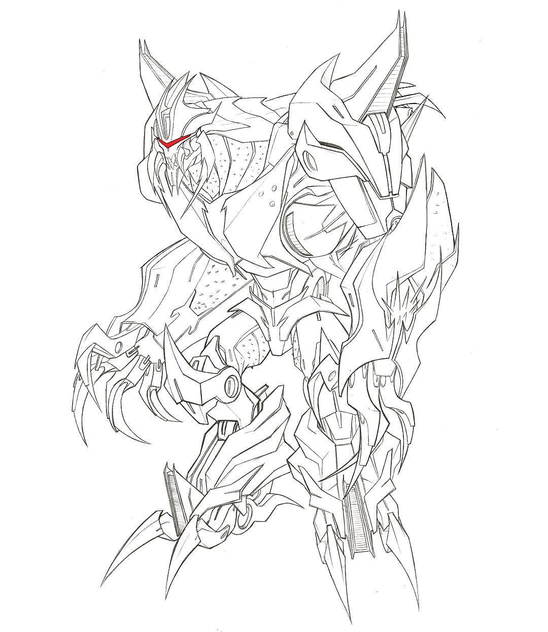 More Transformers Prime Concept Art Jose Lopez