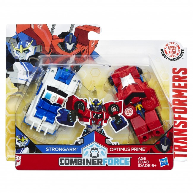 Optimus Prime and Strongarm 01