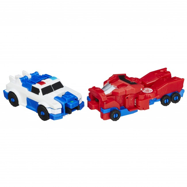 Optimus Prime and Strongarm 02
