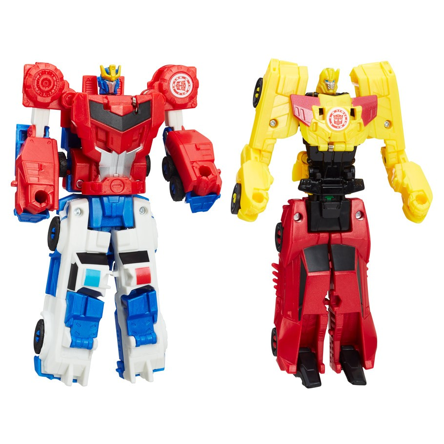 Optimus Prime and Strongarm 03