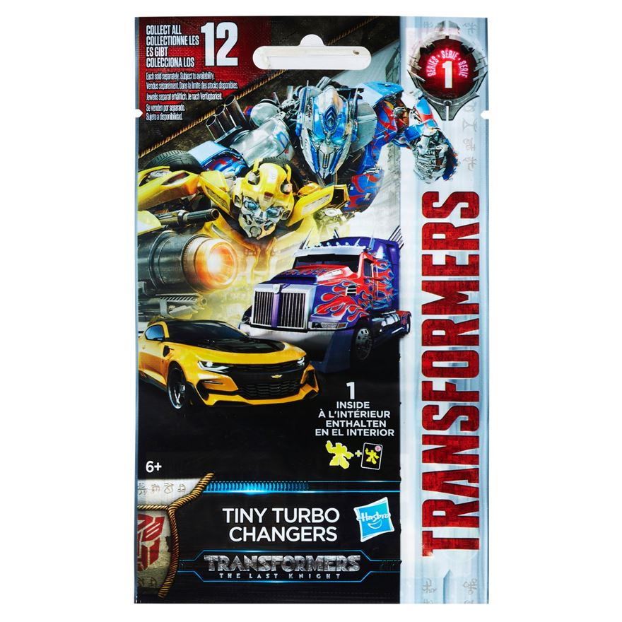 Transformers: The Last Knight Tiny Turbo Changers Blind
