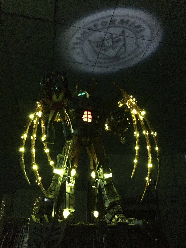 The Fine Folks Over At Soldier Story Toys Have Shared A Behind The Scenes  Look At The Recently Announced Transformers Unicron Table Lamp (Statue).