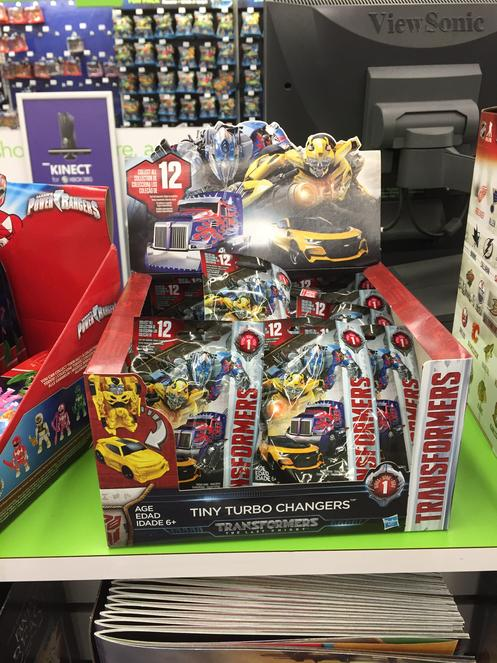 Transformers The Last Knight Tiny Turbo Changers Case