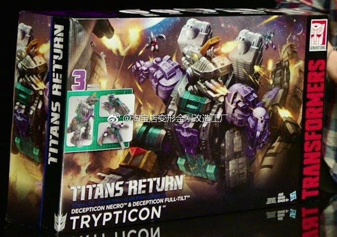 Transformers Trypticon titans return generations new in box