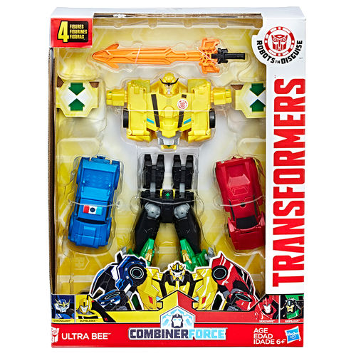 transformers robots in disguise combiner force   team