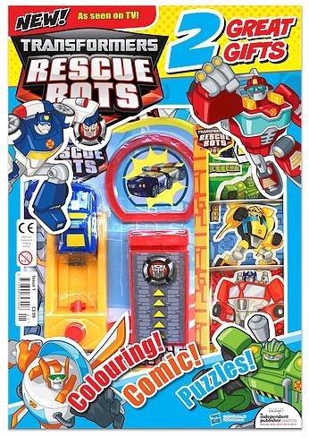 Transformers Rescue Bots: Série animé + Jouets (2011-2016) - Page 7 Transformers-Rescue-Bots-Magazine-001