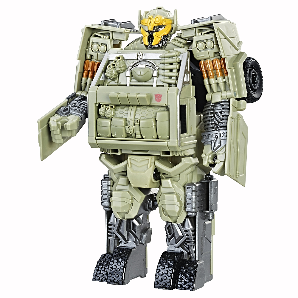 first look at transformers the last knight armor up turbo changer hound transformers news. Black Bedroom Furniture Sets. Home Design Ideas