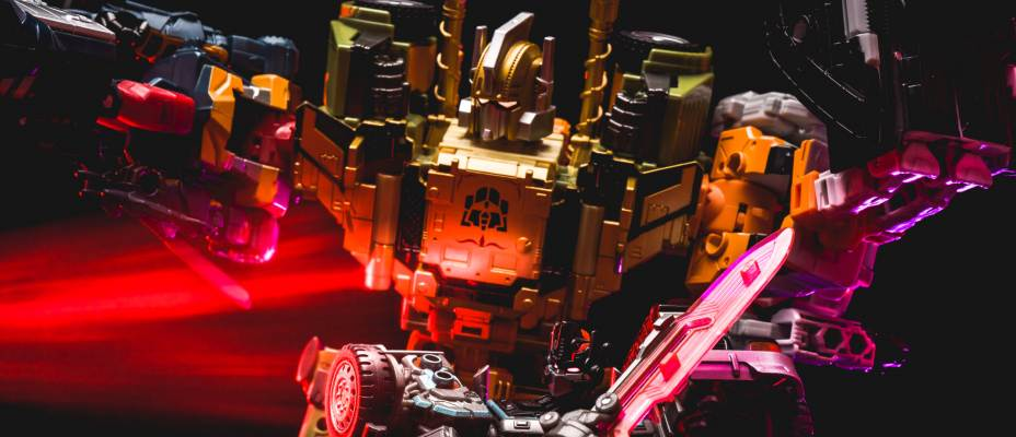 Unite Warriors Baldigus (Ruination) Photo Review
