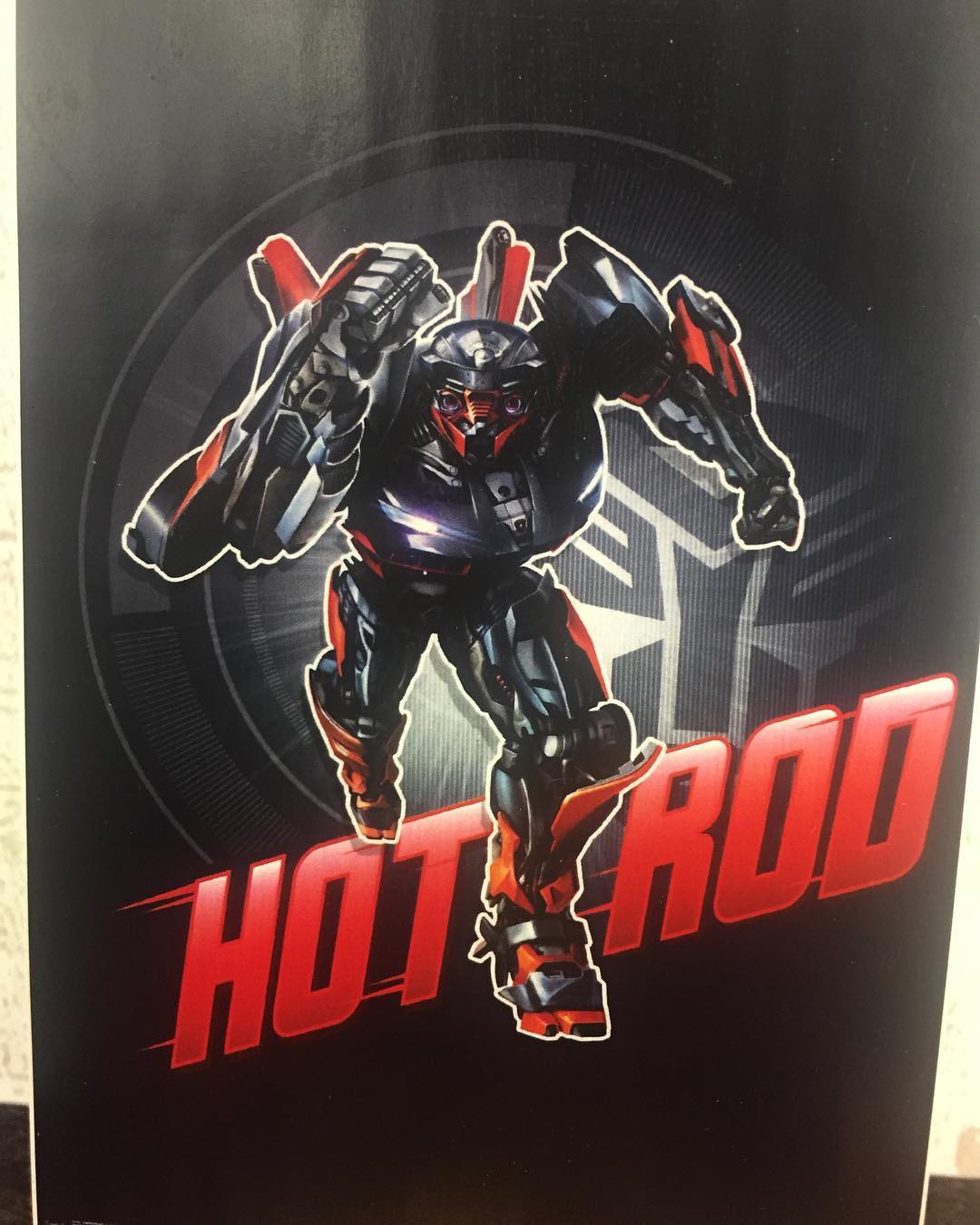 New Transformers The Last Knight Hot Rod Poster Cybertron