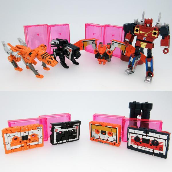 [Masterpiece] MP-15E et MP-16E Mini-cassettes Night Stalker, Stripes, Enemy et Wing Thing MP15-16-1