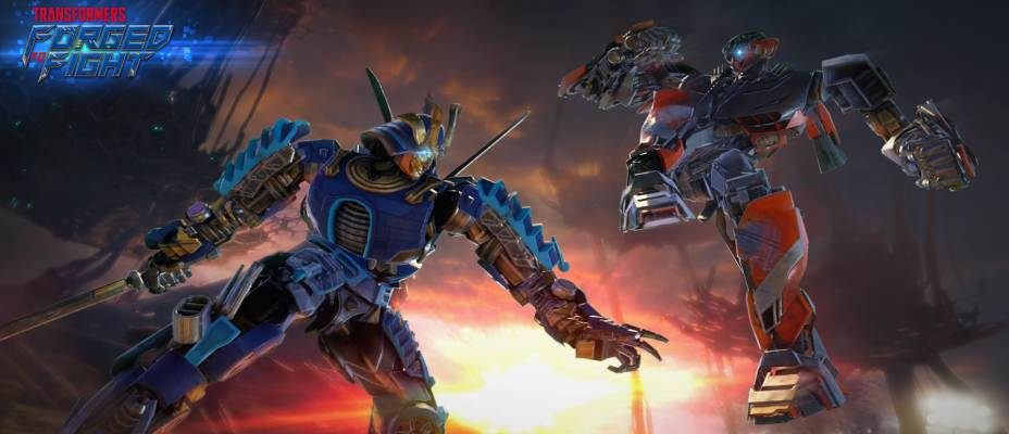 Transformers Forged to Fight 2.0 - Drift and Hot Rod Live!