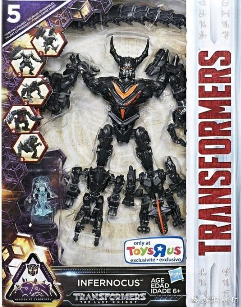 Transformers Le dernier chevalier PREMIER EDITION leader Dragonstorm Combineur