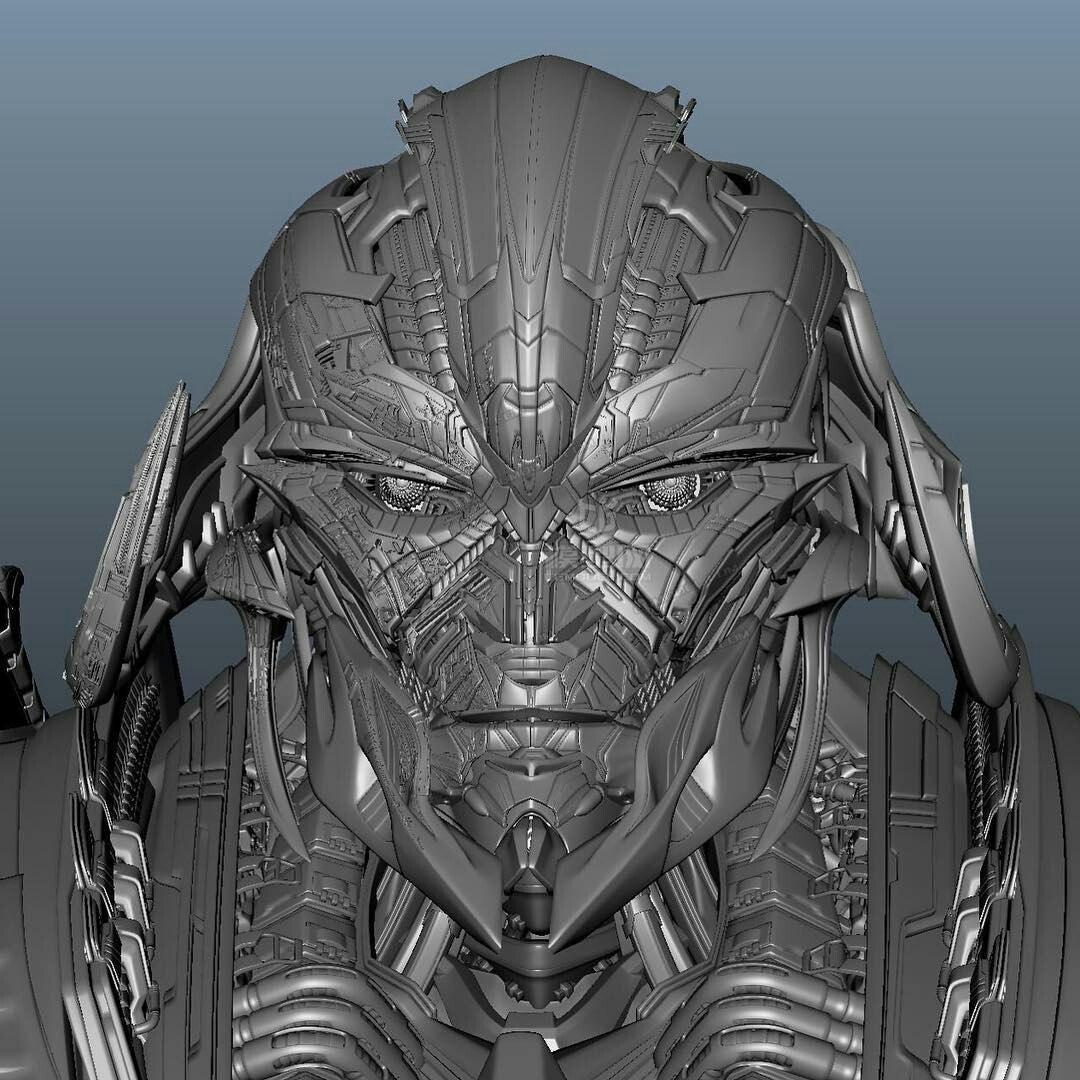 Transformers: The Last Knight Megatron CGI Model Revealed