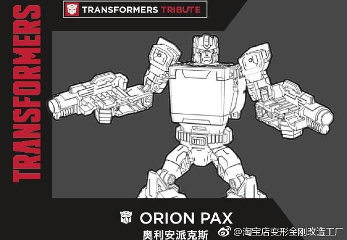 Jouets Transformers Generations: Nouveautés Hasbro - Page 6 Transformers-Tribute-Orion-Pax
