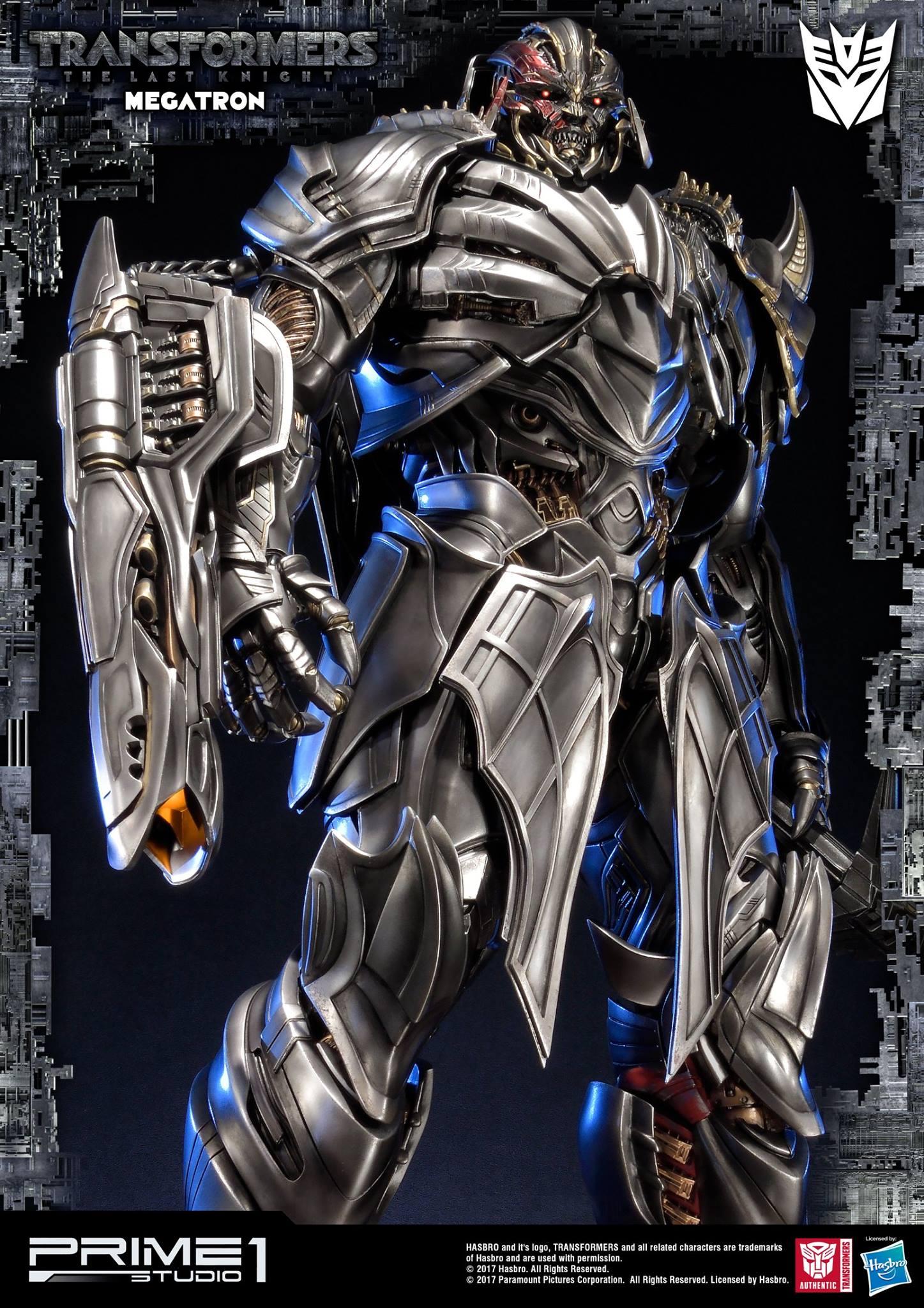 Prime 1 studios the last knight megatron statue transformers news tfw2005 - Transformers prime megatron ...