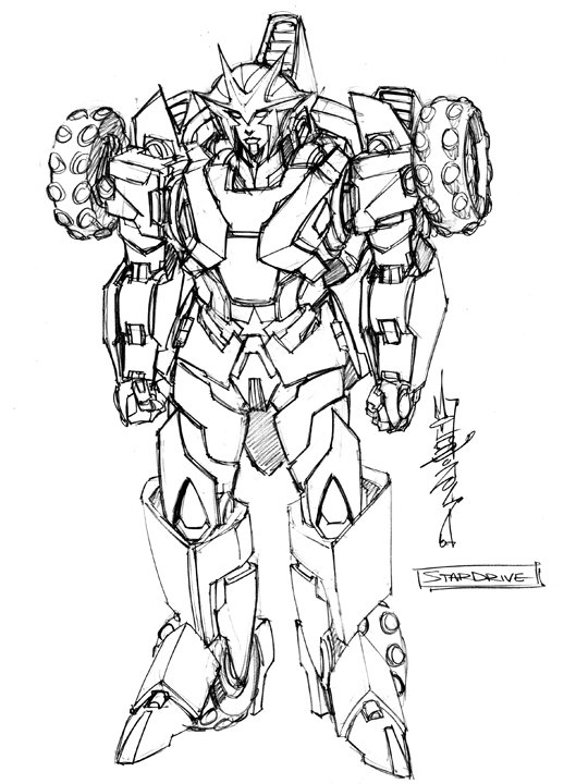 Idw Rom Vs Transformers Shining Armor Character Design