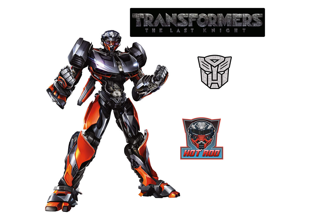 Transformers The Last Knight Vivian: Transformers: The Last Knight Fathead Vinyl Wall Decals