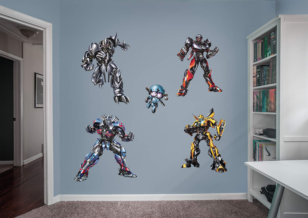 transformers the last knight fathead vinyl wall decals wall the last knight decals 07