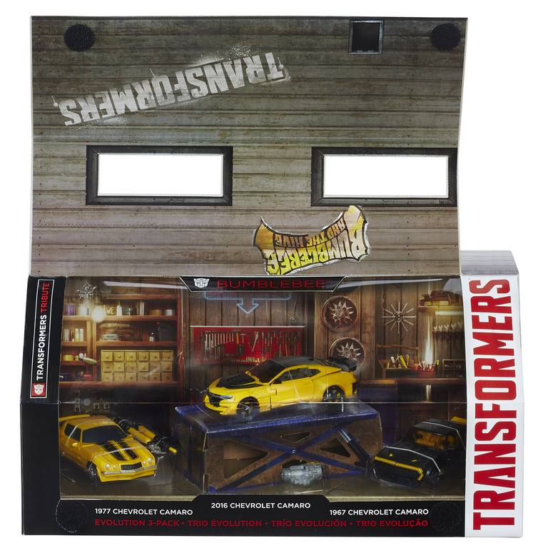 Transformers Tribute Bumblebee 3 Pack Official Images
