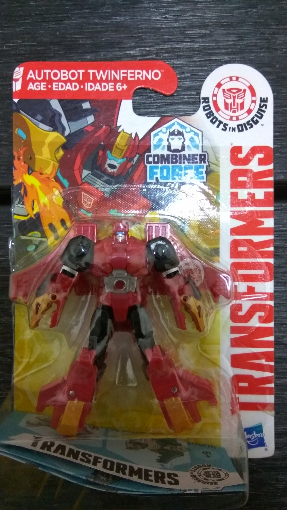 Hasbro Transformers RID Robots in Disguise Combiner Force Groundbuster