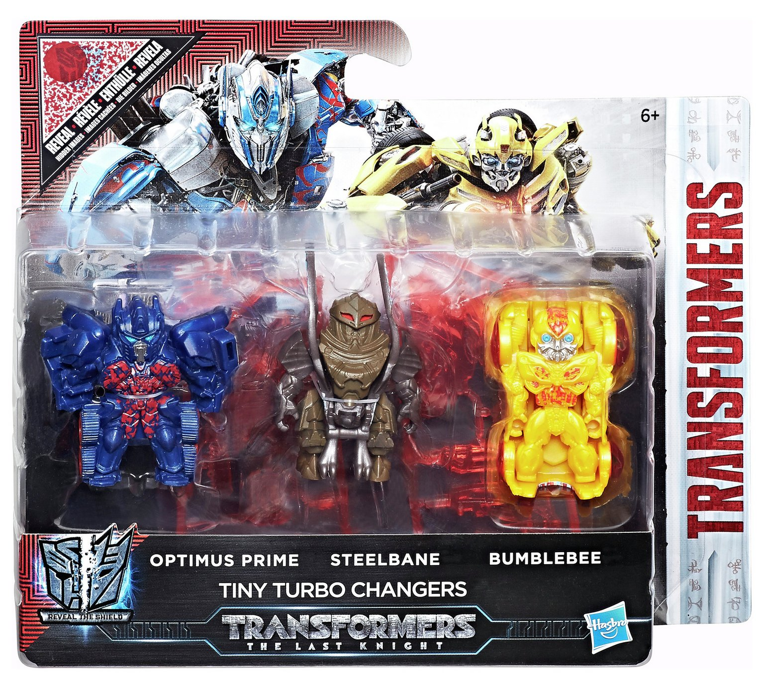 Reveal The Shield Tiny Turbo Changers Three Pack Out At US
