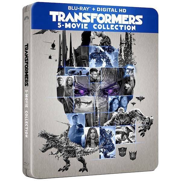 transformers the last knight 5 movie collection blu ray digital