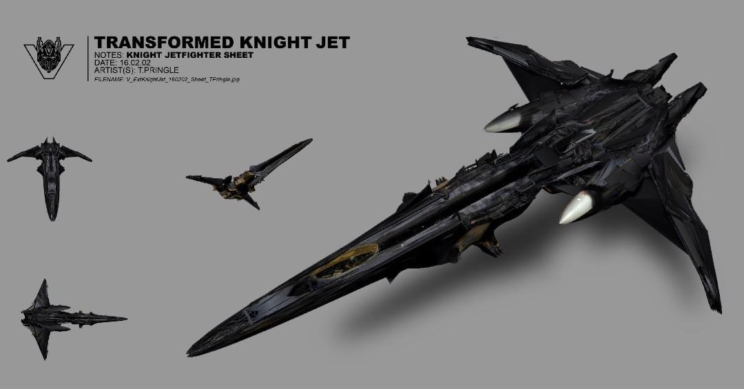 Fighter Aircraft Concept Art