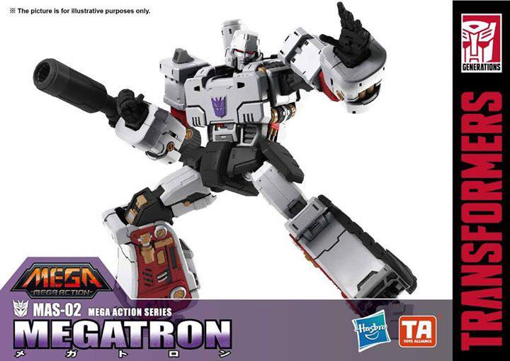 Transformers Mega Action Series: almost 6