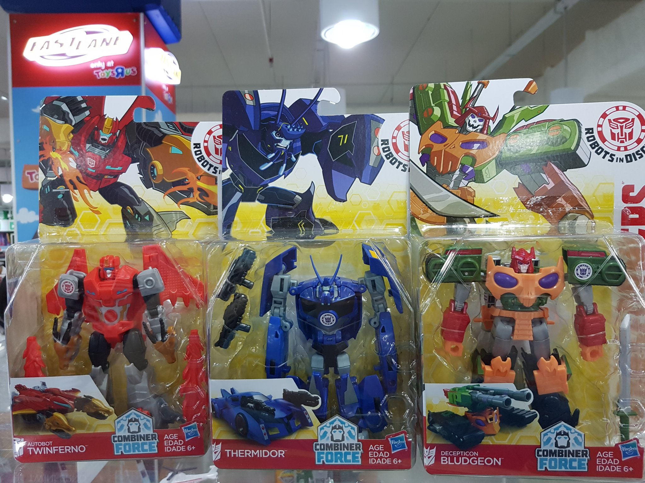 Transformers Robots In Disguise TWINFERNO Warrior Rid 2015