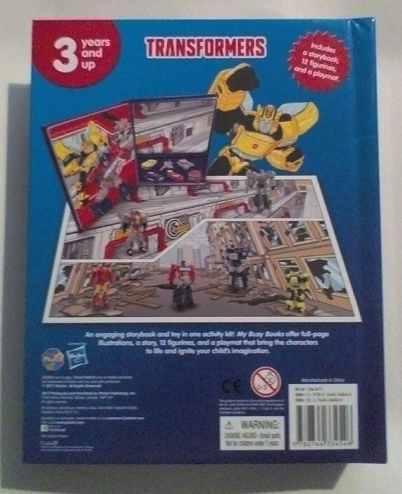We Car: Transformers My Busy Book Spotted In UK