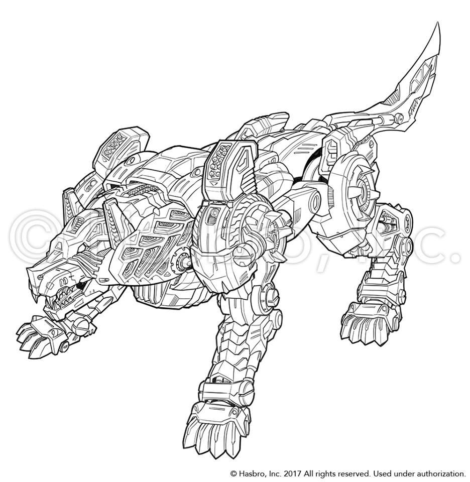 Emiliano Santalucia Concept Art For Titans Return Wolfwire    Weirdwolf - Transformers News